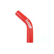 Szilikon szűkítő könyök TurboWorks Piros 45 fok 25-32mm